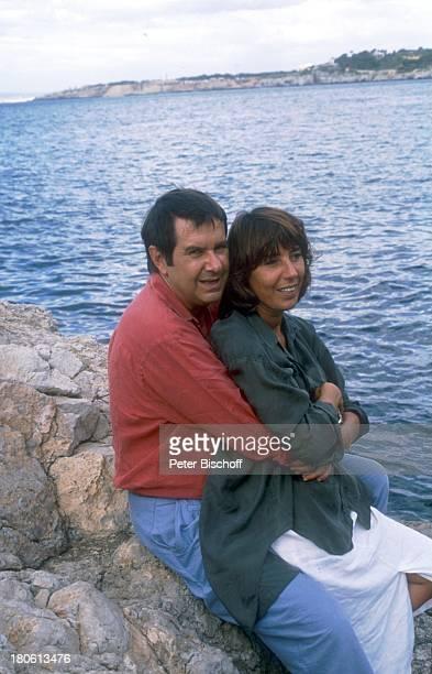 Gerd Baltus Ehefrau Brigitte Rokohl Spanien/Mallorca Urlaub Mittelmeer umarmen Frau