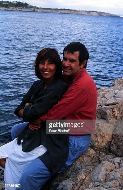 Gerd Baltus Ehefrau Brigitte Rokohl ZDFSerieHotel Paradies Dreh Mallorca/Spanien