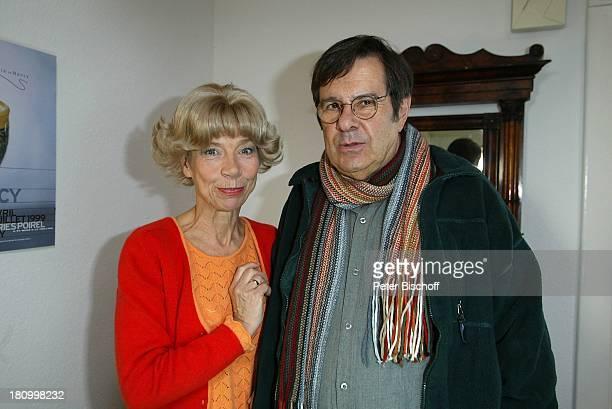 Gerd Baltus Evelyn Hamann Dreharbeiten zur ZDFReihe Evelyn Hamann s Geschichten Hamburg Brille Schauspieler Schauspielerin Promis Prominenter...