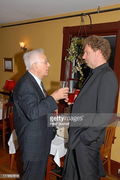 Gerd Bauer Gast Party zum 70 Geburtstag von Heide Keller neben den Dreharbeiten zur ZDFReihe Traumschiff Folge 62 Indian Summer Restaurant Mc Kays...