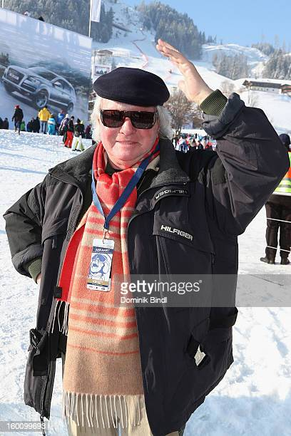 Gerd Kaefer attends the Hahnenkamm Race on January 26 2013 in Kitzbuehel Austria