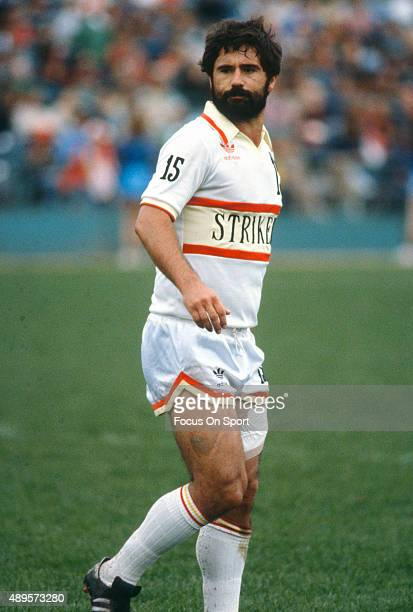 Gerd Mueller of the Fort Lauderdale Strikers looks on during an NASL Soccer game circa 1979 Mueller played for the Strikers from 197981