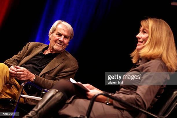Gerd Ruge Anne Gesthuysen ist unterwegs mit Gerd Ruge. Eine Hommage an einen grossen Journalisten im Rahmen der dritten lit.COLOGNE...