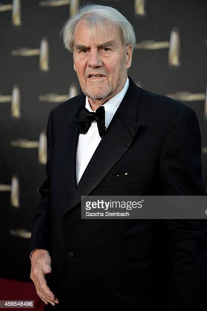 Gerd Ruge arrives at the 'Deutscher Fernsehpreis 2014' at Coloneum on October 2 2014 in Cologne Germany