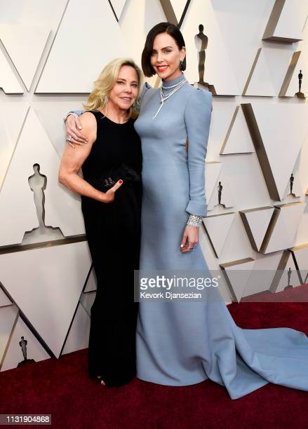 Gerda Maritz and Charlize Theron attend the 91st Annual Academy Awards at Hollywood and Highland on February 24 2019 in Hollywood California