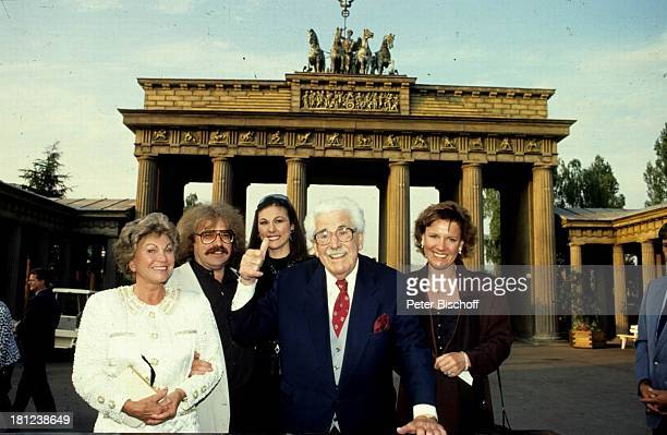 Gerda Millowitsch, Bernhard Paul , Ehefrau Eliana Paul , Willy Millowitsch, Mariele Millowitsch , Show zum 25-jährigen Jubiläum des Phantasialands:...