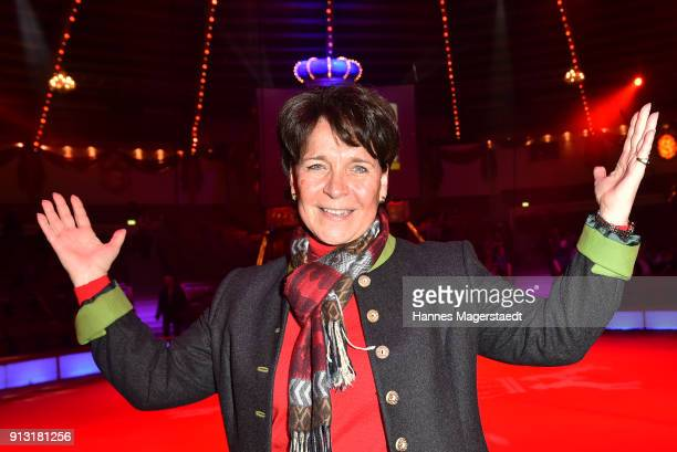 Gerda Steiner during Circus Krone celebrates premiere of 'Hommage' at Circus Krone on February 1 2018 in Munich Germany