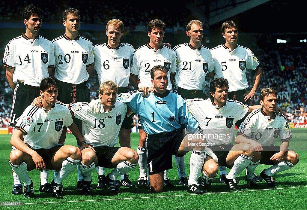 EURO 1996/TEAM GER : News Photo