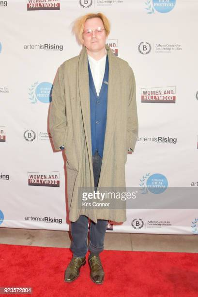 Geremy Jasper attends the 2018 Athena Film Festival Awards Ceremony at The Diana Center At Barnard College on February 23 2018 in New York City