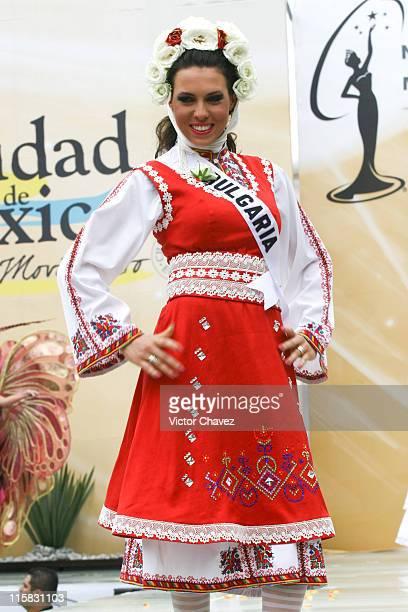 bbab2a6c2ad20 Gergana Kochanova Miss Universe Bulgaria 2007 wearing national costume