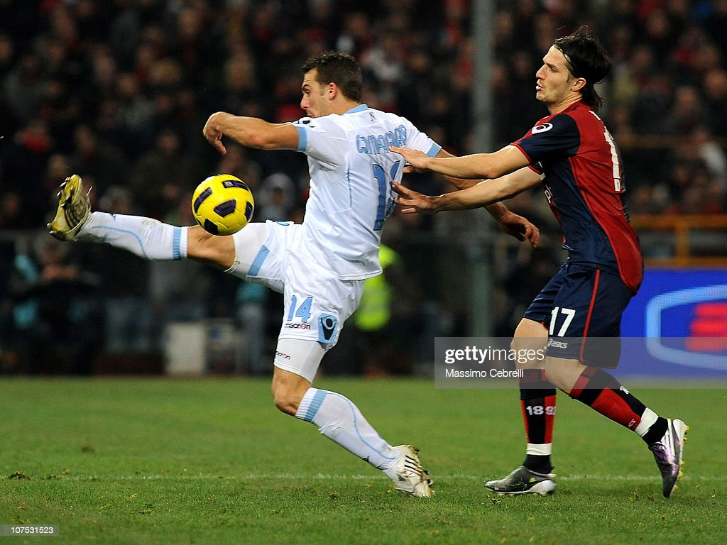 Gergely Rudolf Of Genoa Cfc Battles For The Ball Against Hugo News Photo Getty Images
