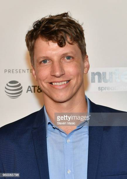 Gergory Hoyt attends the Shorts Program Surviving Theather 9 during Tribeca Film Festival at Regal Battery Park 11 on April 22 2018 in New York City