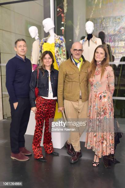 Gergory Parkinson Barbara Croce Patrik Milani and Susan Winget attend LACMA Director's Circle Celebrates The Wear LACMA Fall 2018 Collection With...