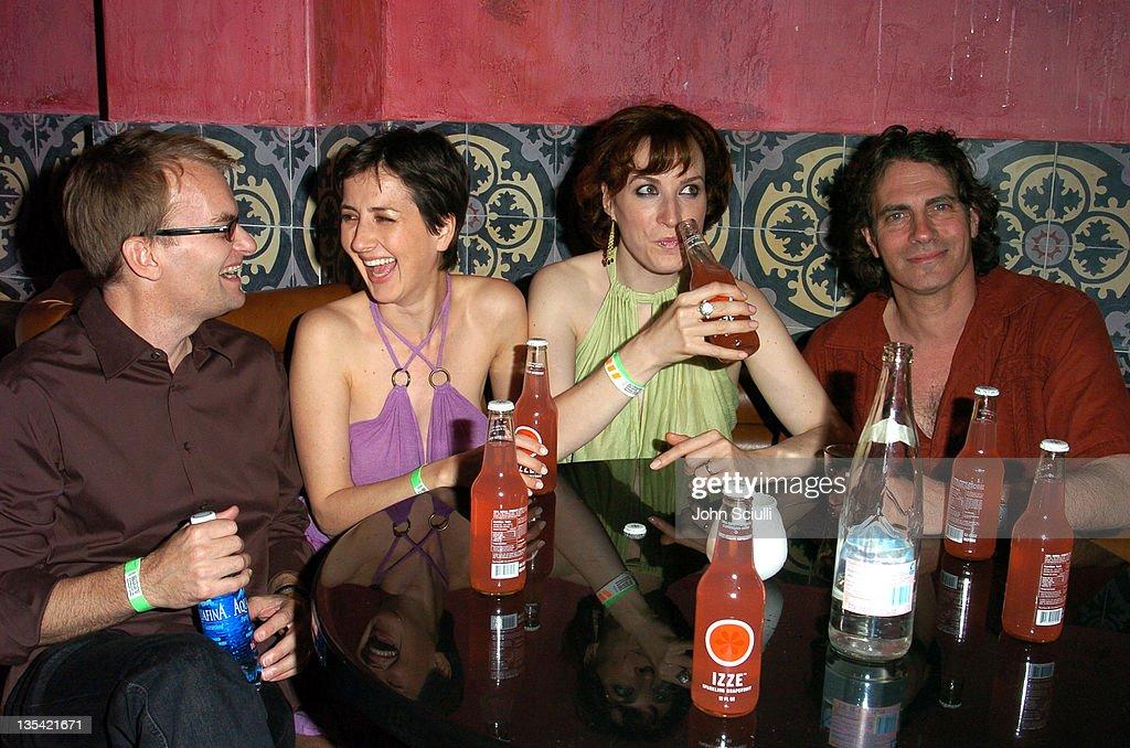 Gergory Pruss, Anna Getty, Samantha Weaver and David Silverman, director,