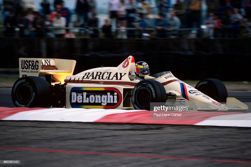 Gerhard Berger, Grand Prix Of Great Britain : News Photo