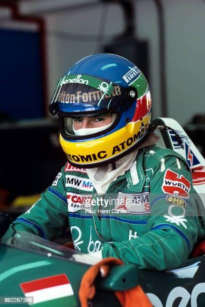 Gerhard Berger BenettonBMW B186 Grand Prix of Austria Osterreichring 17 August 1986