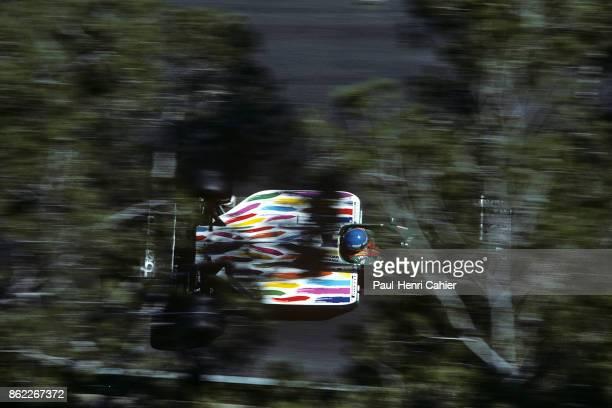 Gerhard Berger, Benetton-BMW B186, Grand Prix of Monaco, Circuit de Monaco, 11 May 1986.