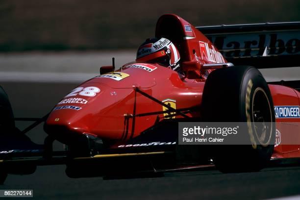 Gerhard Berger, Ferrari 412T1, Grand Prix of Pacific, Okayama International Circuit, 17 April 1994.