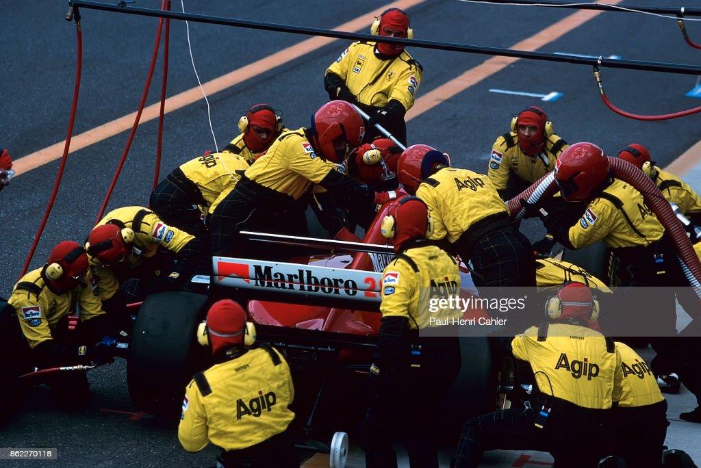 Gerhard Berger, Grand Prix Of Europe : News Photo