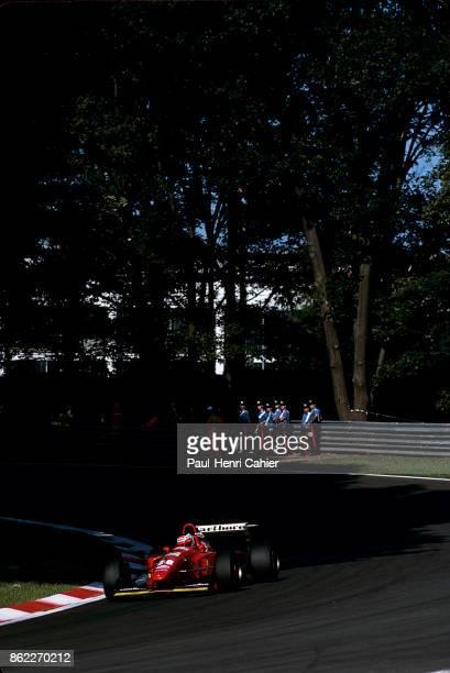 Gerhard Berger Ferrari 412T1B Grand Prix of Italy Autodromo Nazionale Monza 11 September 1994