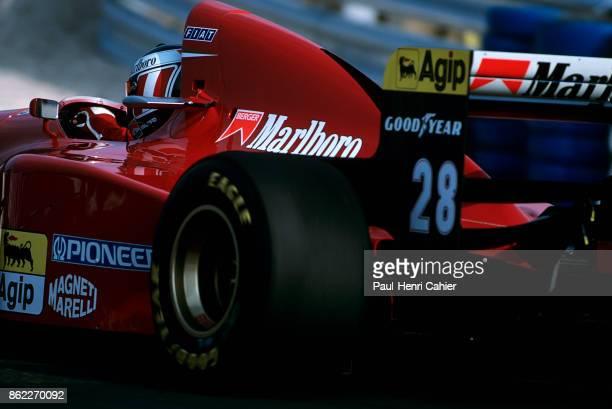 Gerhard Berger Ferrari 412T1B Grand Prix of Portugal Autodromo do Estoril 25 September 1994