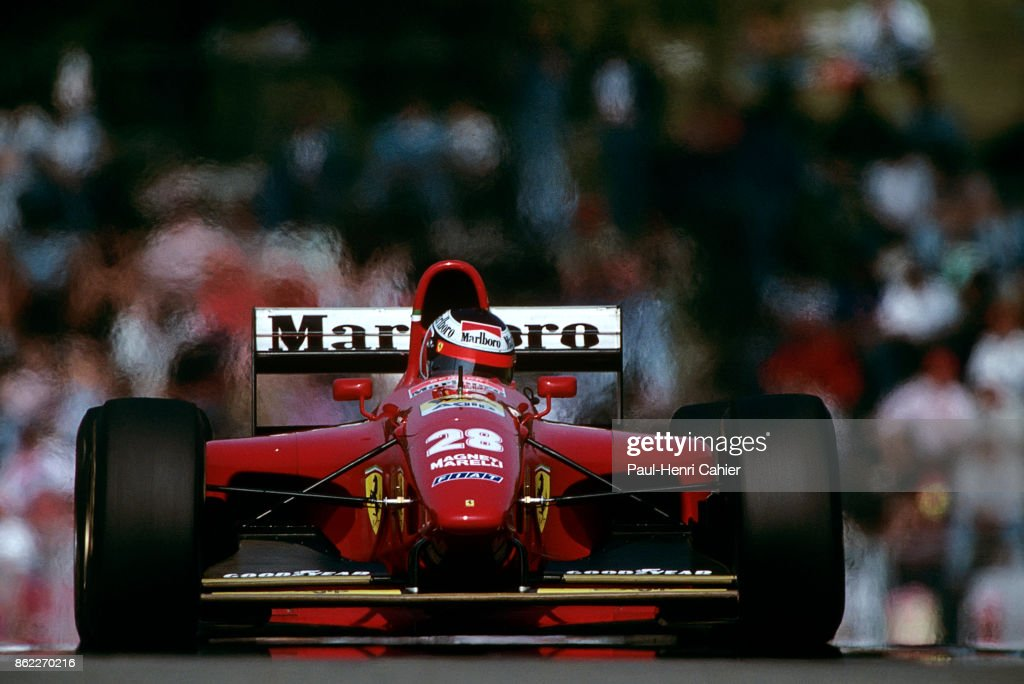Gerhard Berger, Grand Prix Of San Marino : News Photo