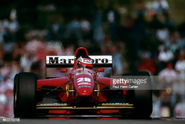 Gerhard Berger, Ferrari 412T1B, Grand Prix of San Marino, Autodromo Enzo e Dino Ferrari, Imola, 01 May 1994.