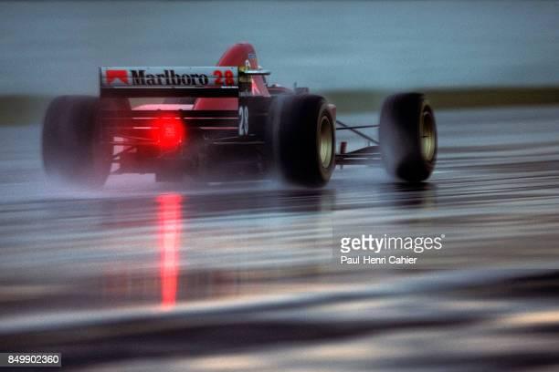 Gerhard Berger Ferrari 412T2 Grand Prix of Argentina Autodromo Juan y Oscar Galvez Buenos Aires Argentina April 9 1995
