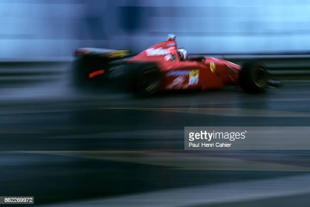 Gerhard Berger Ferrari 412T2 Grand Prix of Belgium Circuit de SpaFrancorchamps 27 August 1995