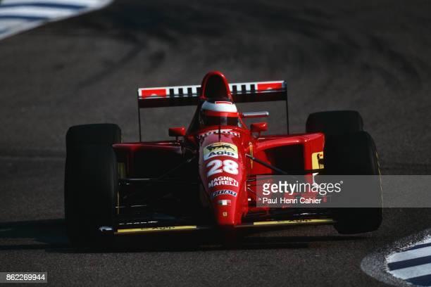 Gerhard Berger Ferrari 412T2 Grand Prix of Germany Hockenheimring 30 July 1995