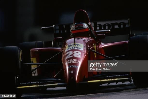 Gerhard Berger Ferrari 412T2 Grand Prix of Monaco Circuit de Monaco 28 May 1995
