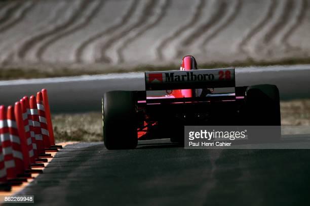 Gerhard Berger Ferrari 412T2 Grand Prix of Pacific Okayama International Circuit 22 October 1995