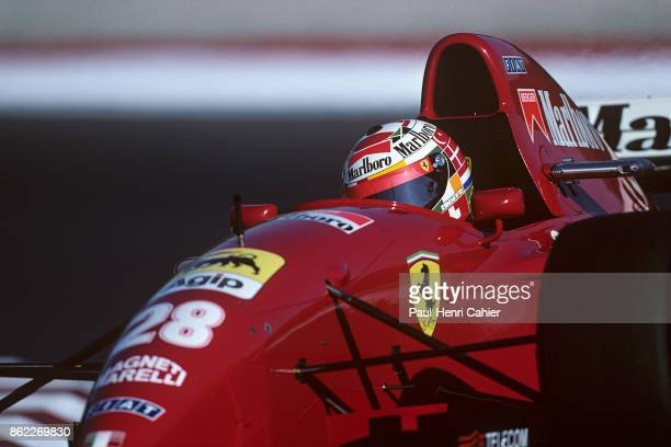 Gerhard Berger Ferrari 412T2 Grand Prix of Portugal Autodromo do Estoril 24 September 1995