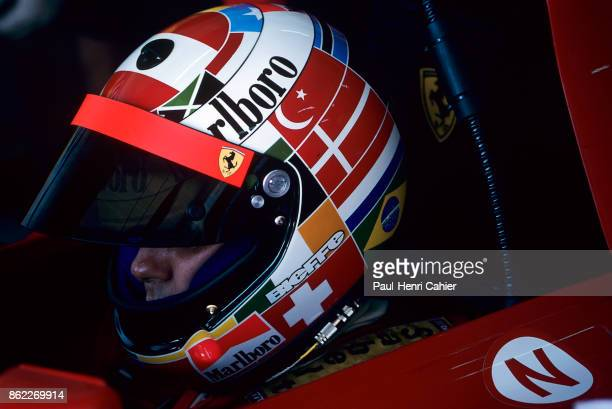 Gerhard Berger Ferrari 412T2 Grand Prix of Portugal Autodromo do Estoril 24 September 1995