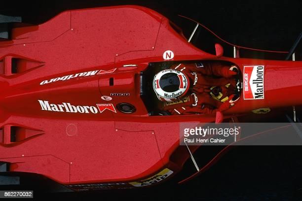 Gerhard Berger, Ferrari 412T2, Grand Prix of San Marino, Autodromo Enzo e Dino Ferrari, Imola, 30 April 1995.