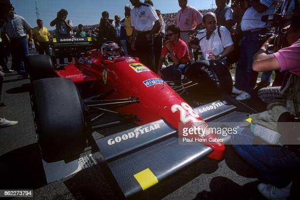 Gerhard Berger, Ferrari F1/87, Grand Prix of Hungary, Hungaroring, 09 August 1987.