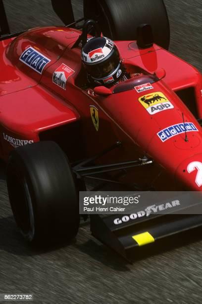 Gerhard Berger, Ferrari F1/87, Grand Prix of Italy, Autodromo Nazionale Monza, 06 September 1987.