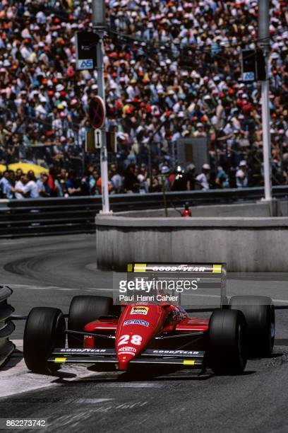 Gerhard Berger Ferrari F1/87 Grand Prix of Monaco Circuit de Monaco 31 May 1987