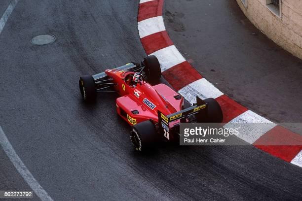 Gerhard Berger, Ferrari F1/87, Grand Prix of Monaco, Circuit de Monaco, 31 May 1987.