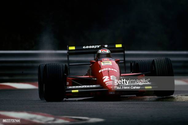 Gerhard Berger Ferrari F1/87/88C Grand Prix of Belgium Circuit de SpaFrancorchamps 28 August 1988