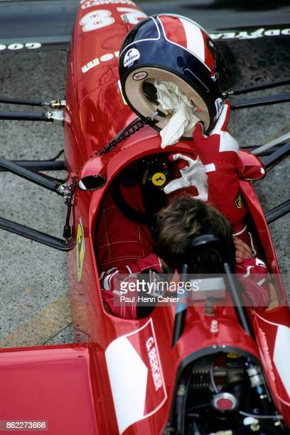 Gerhard Berger Ferrari F1/87/88C Grand Prix of Germany Hockenheimring 24 July 1988