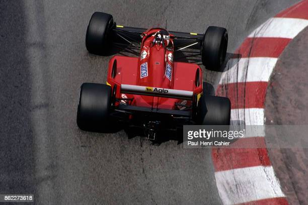 Gerhard Berger Ferrari F1/87/88C Grand Prix of Monaco Circuit de Monaco 15 May 1988