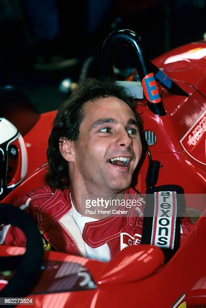Gerhard Berger Ferrari F1/87/88C Grand Prix of Portugal Autodromo do Estoril 25 September 1988