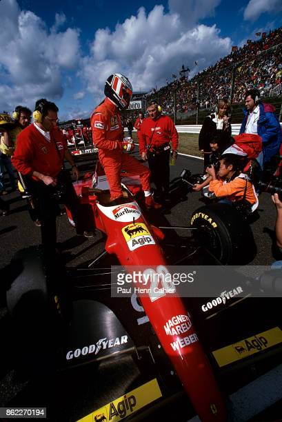 Gerhard Berger Ferrari F93A Grand Prix of Japan Suzuka Circuit 24 October 1993