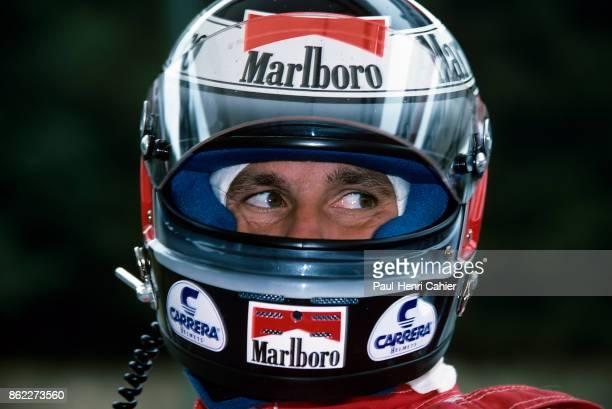 Gerhard Berger, Grand Prix of Hungary, Hungaroring, 13 August 1989.