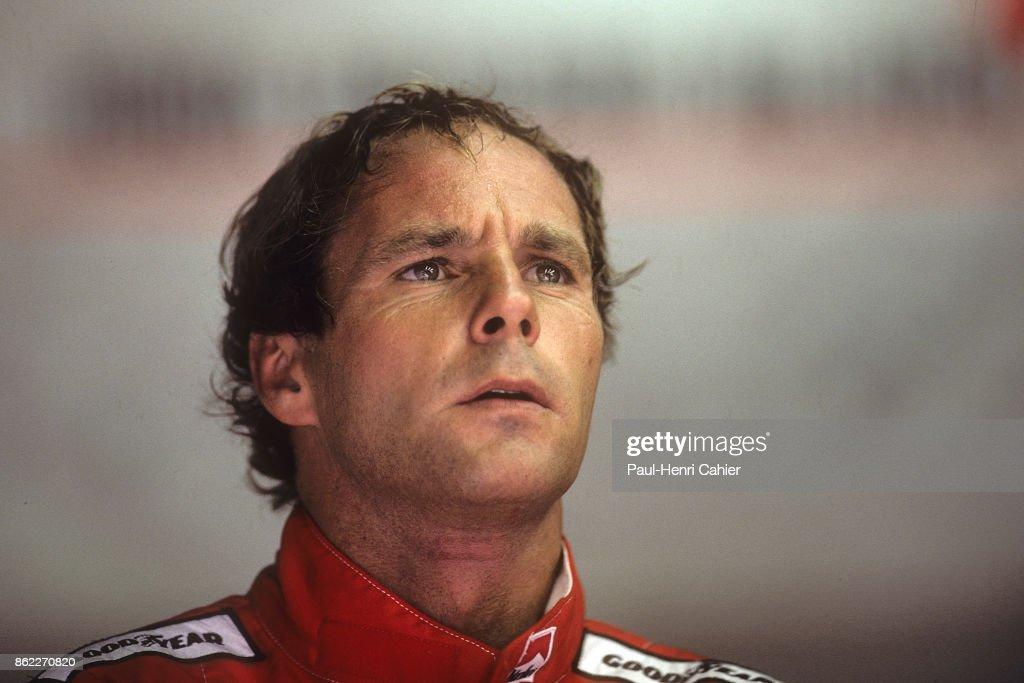 Gerhard Berger, Grand Prix Of Italy : ニュース写真
