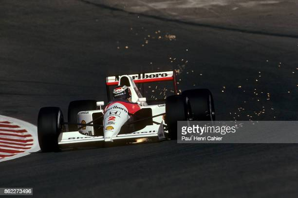 Gerhard Berger McLarenHonda MP4/6 Grand Prix of Belgium Circuit de SpaFrancorchamps 25 August 1991