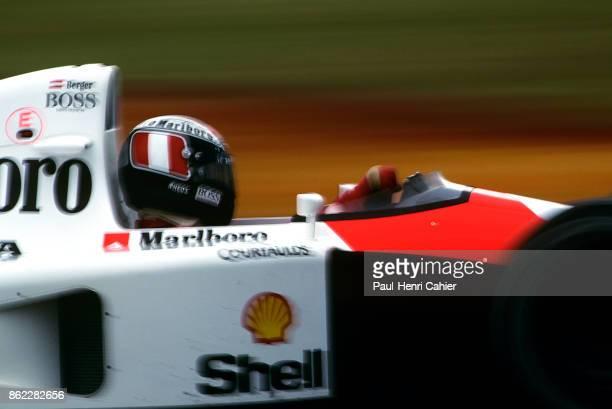 Gerhard Berger, McLaren-Honda MP4/6, Grand Prix of Japan, Suzuka Circuit, 20 October 1991.