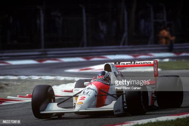 Gerhard Berger, McLaren-Honda MP4/7A, Grand Prix of Italy, Autodromo Nazionale Monza, 13 September 1992.