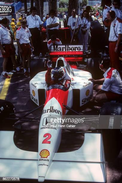 Gerhard Berger McLarenHonda MP4/7A Grand Prix of Monaco Circuit de Monaco 31 May 1992